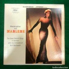 Disques de vinyle: MARLENE DIETRICH - WIEDERSEHEN MIT MARLENE - ORIGINAL USA - LP CAPITOL RF-8703 . BUEN ESTADO. Lote 220609340