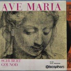 Discos de vinilo: SINGLE. AVE MARIA. Lote 220611101