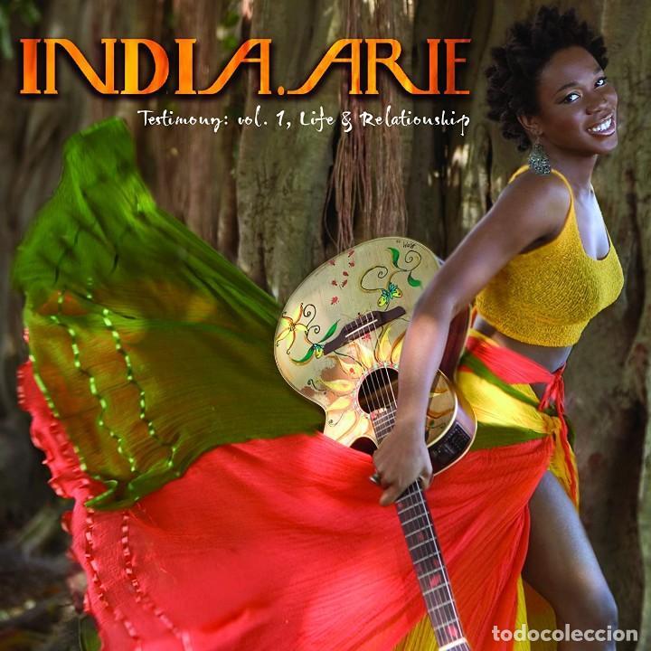 INDIA.ARIE * 2LP TESTIMONY: VOL. 1, LIFE & RELATIONSHIP * RARE * GATEFOLD * PRECINTADO!! (Música - Discos - LP Vinilo - Funk, Soul y Black Music)