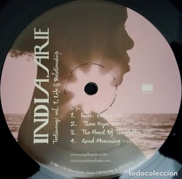 Discos de vinilo: India.Arie * 2LP Testimony: Vol. 1, Life & Relationship * Rare * Gatefold * Precintado!! - Foto 5 - 220613785