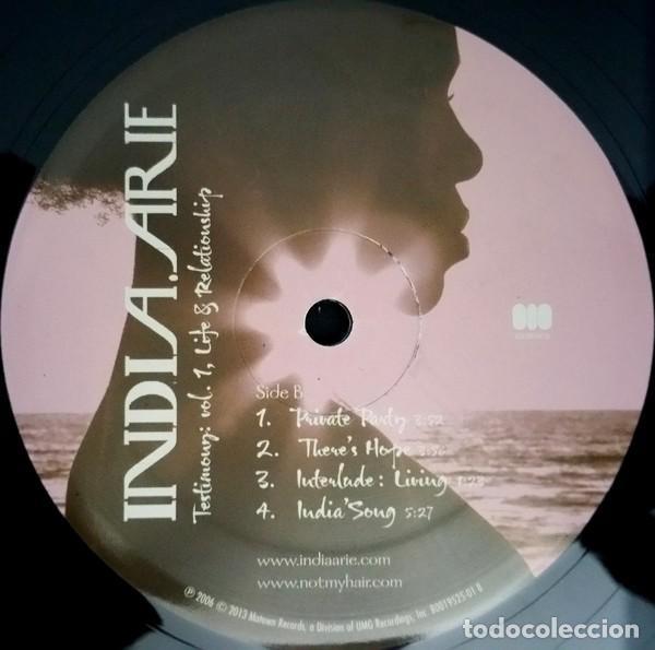 Discos de vinilo: India.Arie * 2LP Testimony: Vol. 1, Life & Relationship * Rare * Gatefold * Precintado!! - Foto 7 - 220613785