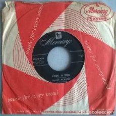 Discos de vinilo: BUDDY MORROW. TOM TOM/ ROCK 'N ROLL. MERCURY, USA 1955 SINGLE. Lote 220619687