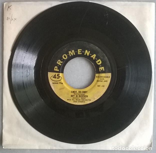 JOHNNY TRENT & HILDA. BLUE MONDAY/ LOVE IS STRANGE/ CINDY/ BOY IN BUCKSKIN. PROMENADE, USA EP (Música - Discos de Vinilo - EPs - Jazz, Jazz-Rock, Blues y R&B)