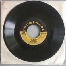 Discos de vinilo: JOHNNY TRENT & HILDA. BLUE MONDAY/ LOVE IS STRANGE/ CINDY/ BOY IN BUCKSKIN. PROMENADE, USA EP. Lote 220619957