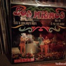 Discos de vinilo: LOS MISMOS MARIA ISABEL ESTA LA COSA NEGRA NEGRA. Lote 220626970