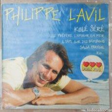 Discos de vinilo: LP PHILIPPE LAVIL - KOLÉ SERÉ - 1987. Lote 220634266