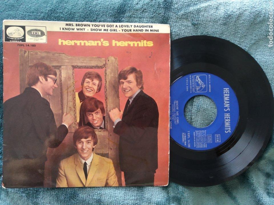 HERMAN'S HERMITS SHOW ME GIRL MRS.BROWN 1965 (Música - Discos de Vinilo - Maxi Singles - Pop - Rock Extranjero de los 50 y 60)