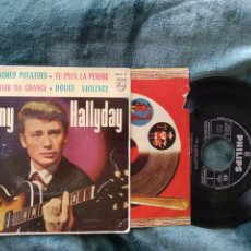 Discos de vinilo: JOHNNY HALLYDAY C'EST LE MASHED POTATOES. 1963. Lote 220634855
