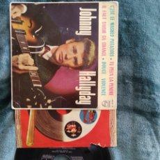 Discos de vinilo: JOHNNY HALLYDAY C'EST LE MASHED POTATOES. 1963. Lote 220634855