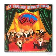 Discos de vinilo: RADIO TOPOLINO ORQUESTA ( LA TOPOLINO ATACA DE NUEVO ) - DISCOS CFE - 1982. Lote 220637868