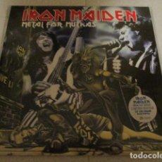 Discos de vinilo: IRON MAIDEN - 2 LP - METAL FOR MUTHAS - LONDON 1980 - MINT - VINILO AZUL - KILLERS. Lote 278796203