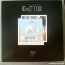 Discos de vinilo: LED ZEPPELIN-THE SONG REMAINS THE SAME 4 LPS. Lote 220639027
