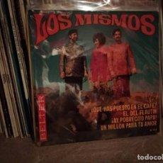 Discos de vinilo: LOS MISMOS ¿QUE HAN PUESTO EN EL CAFE?/EL DEL FLAUTIN/¡AY,POBRECITO PAPA!/+ 'EP 1969 SPAIN ESPAÑ. Lote 220641343