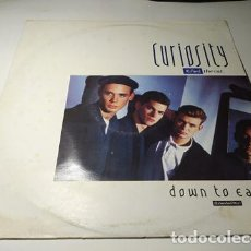 Discos de vinilo: MAXI - CURIOSITY KILLED THE CAT ?– DOWN TO EARTH (EXTENDED MIX) - CATX 2 ( VG+ / G+) UK 1986. Lote 220647137