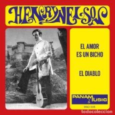 Disques de vinyle: SINGLE HENRY NELSON - EL AMOR ES UN BICHO / VINILO / ED. LTD Y NUMERADA MADMUA RECORDS 2020 / NUEVO. Lote 220648900