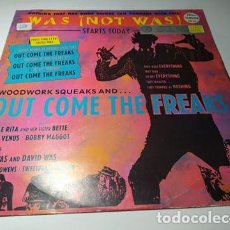 Discos de vinilo: MAXI - WAS (NOT WAS) ?– WOODWORK SQUEAKS AND ... WAS 412 ( VG+ / VG+) EURO 1988. Lote 220650032