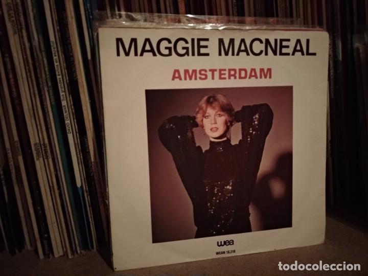 MAGGIE MACNEAL ( AMSTERDAM - TAKE IT EASY ) 1979 EUROVISION HOLANDA (Música - Discos - Singles Vinilo - Festival de Eurovisión)