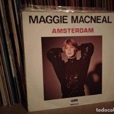 Disques de vinyle: MAGGIE MACNEAL ( AMSTERDAM - TAKE IT EASY ) 1979 EUROVISION HOLANDA. Lote 220654816