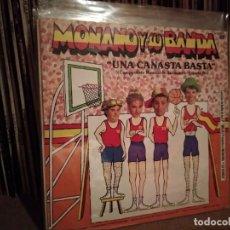 Disques de vinyle: MONANO Y SU BANDA - UNA CANASTA BASTA. Lote 220658127