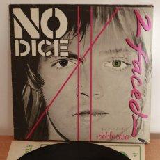 Discos de vinilo: NO DICE - 2 FACED DOBLE CARA - 1979 - ESPAÑA - VG/VG. Lote 220661518