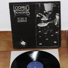 Discos de vinilo: LOQUILLO Y LOS TROGLODITAS - MORIR EN PRIMAVERA - 1988 - ESPAÑA - VG-/VG+. Lote 220662636