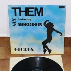 Discos de vinilo: THEM WITH VAN MORRISON - GLORIA - 1989? - ESPAÑA - VG+/VG+. Lote 220662847