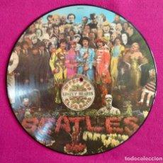 Discos de vinilo: LP VINILO BEATLES. EDICION LIMITADA, VINILO PINTADO, SGT. PEPPER'S LONELY HEARTS CLUB BAND.. Lote 220664791