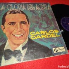 Disques de vinyle: CARLOS GARDEL LA GLORIA DEL AGUILA VOL.48 LP ODEON LDS-830 URUGUAY. Lote 220668401