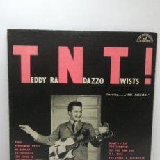 Disques de vinyle: TEDDY RANDAZZO & THE DAZZLERS, TWIST (ABC 1962,ORIG USA) CARPETA GRUESA. Lote 220673282
