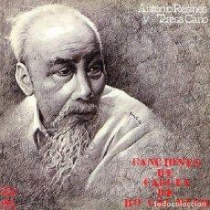 Discos de vinilo: LP -CANCIONES DE CARCEL DE HO CHI MINH - ORIGINAL ANALÓGICO SPAIN 1976. Lote 220696512