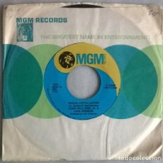 Discos de vinilo: HANK WILLIAMS JR & LOIS JOHNSON. WHOLE LOTTA LOVING/ MY SHOULD WE TRY ANYMORE. MGM, USA 1972 SINGLE. Lote 220700710