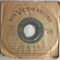 Discos de vinilo: PIANO RED. ROCKIN' WITH RED/ RED BOOGIE. RCA-VICTOR, USA 1954 SINGLE. Lote 220701763