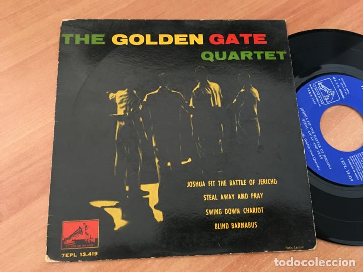 THE GOLDEN GATE QUARTET (JOSHUA FIT THE BATTLE OF JERICHO +3 ) EP ESPAÑA 1960 (EPI19) (Música - Discos de Vinilo - EPs - Funk, Soul y Black Music)