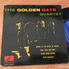 Discos de vinilo: THE GOLDEN GATE QUARTET (JOSHUA FIT THE BATTLE OF JERICHO +3 ) EP ESPAÑA 1960 (EPI19). Lote 220702131
