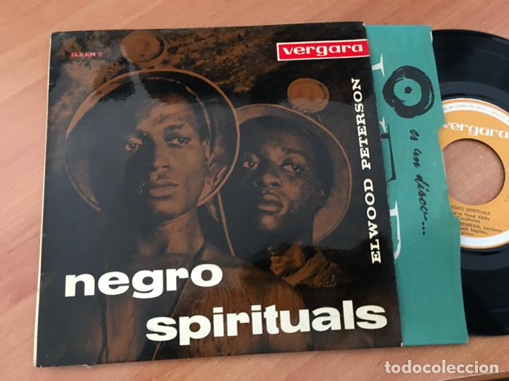 ELWOOD PETERSON NEGRO SPIRITUALS (YOU'RE TIRED CHILE +3 ) EP ESPAÑA 1960 (EPI19) (Música - Discos de Vinilo - EPs - Funk, Soul y Black Music)