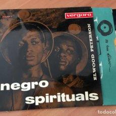 Discos de vinilo: ELWOOD PETERSON NEGRO SPIRITUALS (YOU'RE TIRED CHILE +3 ) EP ESPAÑA 1960 (EPI19). Lote 220702271