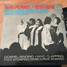 Discos de vinilo: THE GOSPEL PEARLS BESSIE GRIFFIN (SWING DOWN SWEET CHARIOT +3 ) EP ESPAÑA 1960 (EPI19). Lote 220703468