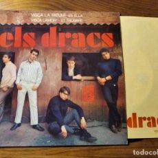 Discos de vinilo: ELS DRACS - VISCA LA PATUM + 3 ********* MEGA RARO EP DE 60'S BEAT CATALÀ 1965, GRAN ESTADO!. Lote 220703571