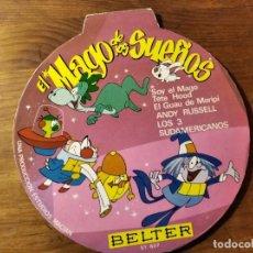 Discos de vinilo: EL MAGO DE LOS SUEÑOS ************* SUPER RARO EP BELTER 1966, GRAN ESTADO!. Lote 220704290