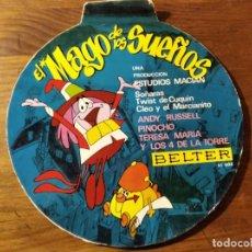 Discos de vinilo: EL MAGO DE LOS SUEÑOS ************* SUPER RARO EP BELTER 1966, GRAN ESTADO!. Lote 220704340