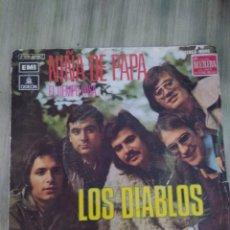 Disques de vinyle: SINGLE VINILO LOS DIABLOS. Lote 220711457