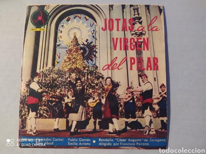 VINILO JOTAS DE LA VIRGEN DEL PILAR (Música - Discos de Vinilo - Maxi Singles - Étnicas y Músicas del Mundo)