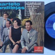 Discos de vinilo: CUARTETO CANDILEJAS - EP SPAIN PS - CUANDO TE VUELVA A VER - TOP MOD SOUL. Lote 220718978