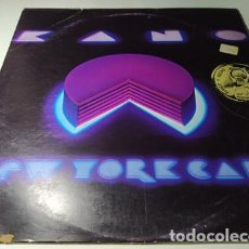 Discos de vinilo: LP - KANO ?– NEW YORK CAKE - FTM 31703 ( VG / G+) ITALY 1981 ****. Lote 220736640