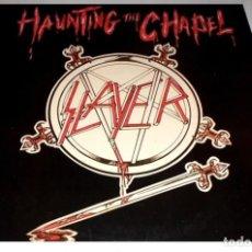 Discos de vinilo: V1290 - SLAYER. HAUNTING THE CHAPEL. EP VINILO. Lote 220740750