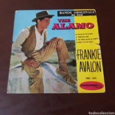 Dischi in vinile: THE ALAMO - FRANKIE AVALON. Lote 220745137