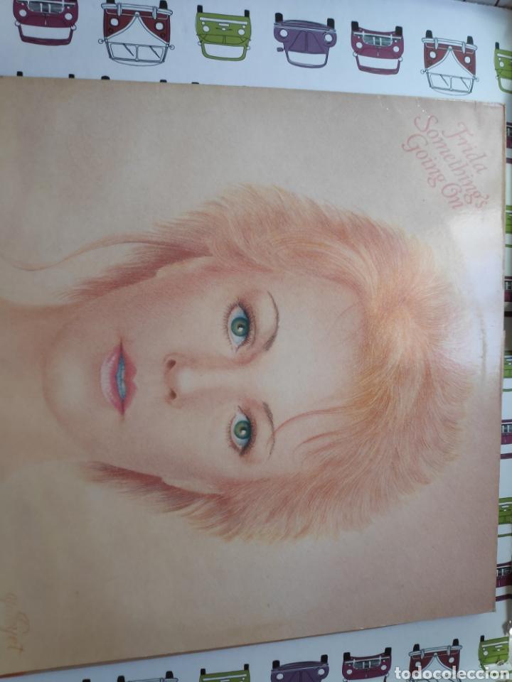 Discos de vinilo: Frida - Album holandés - Somethings going on - Vinilo - Abba - Foto 8 - 220745476