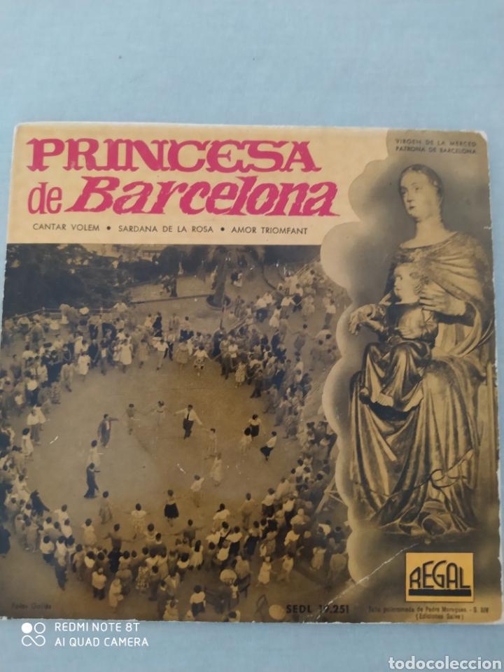 VINILO PRINCESA DE BARCELONA-SARDANAS EP REGAL-CANTAR VOLEM- SARDANA DE LA ROSA+1 (Música - Discos de Vinilo - EPs - Étnicas y Músicas del Mundo)