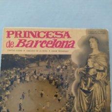 Discos de vinilo: VINILO PRINCESA DE BARCELONA-SARDANAS EP REGAL-CANTAR VOLEM- SARDANA DE LA ROSA+1. Lote 220751446