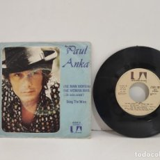 Discos de vinilo: SINGLE PAUL ANKA. ONE MAN WOMAN. Lote 220756010